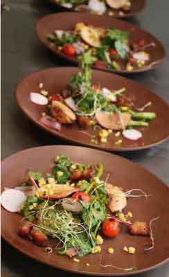 Cornbread & Caviar Salad Menu